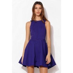 Revolve Keepsake fit flare Lucky Life dress